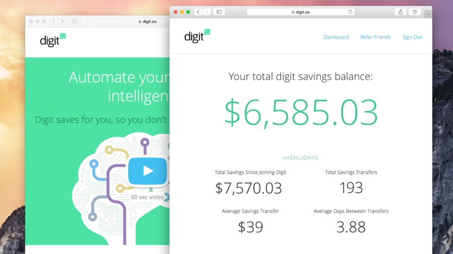 Learn how you can save more money this year automatically with Digit!